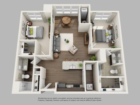 Floor Plan 3 | Infinity at Centerville Crossing