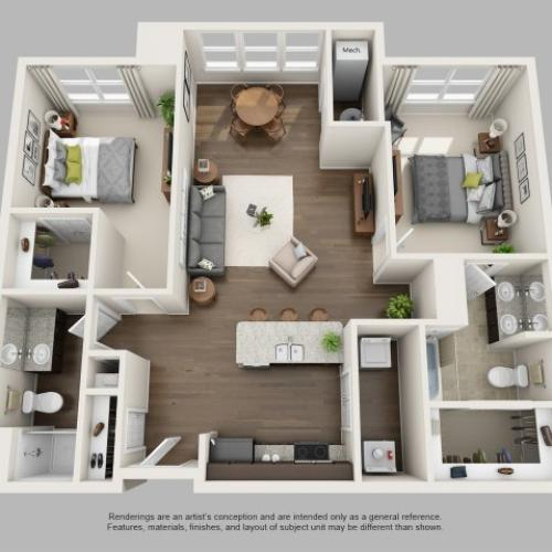 Floor Plan 3 | Infinity at Centerville Crossing