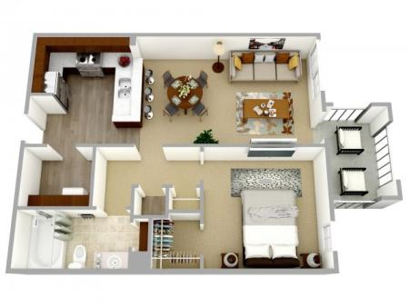 One bedroom apartment for rent Columbia, SC