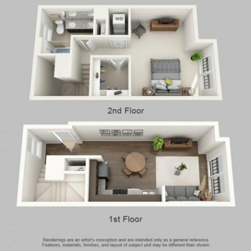 Floor Plan 10 | Infinity at Centerville Crossing