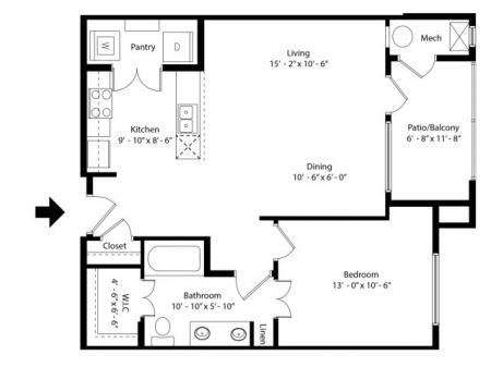 Floor Plan 5 | Infinity at Centerville Crossing
