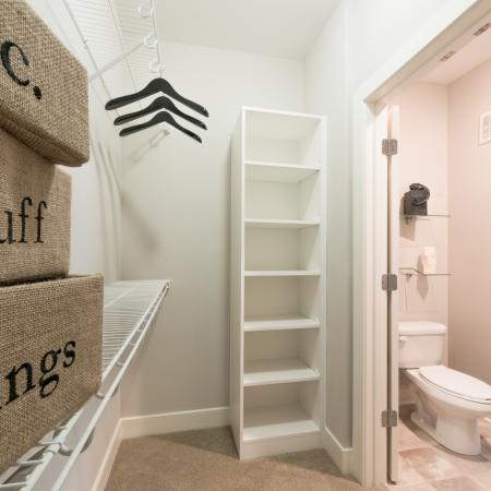 Vast Closet | Infinity at Centerville Crossing