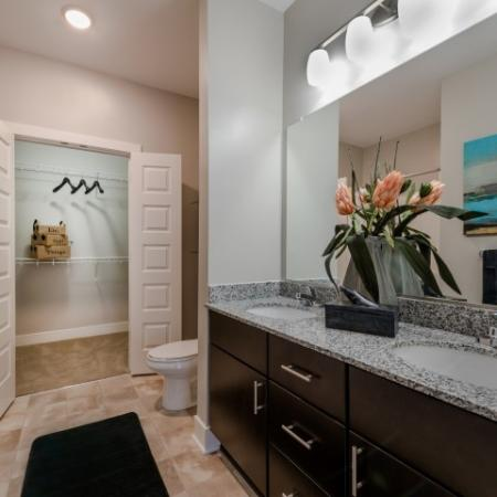 Elegant Master Bathroom | Infinity at Centerville Crossing