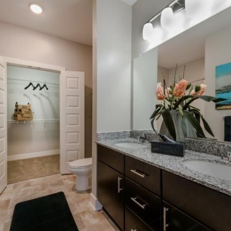 Elegant Master Bathroom | Infinity at Centerville Crossing