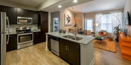 Modern Kitchen   Infinity at Centerville Crossing