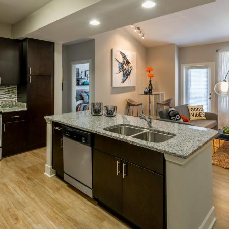 Modern Kitchen | Infinity at Centerville Crossing