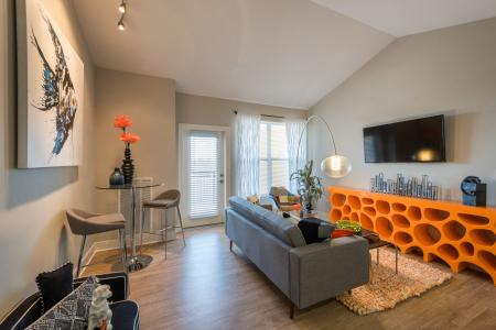 Elegant Living Area   Infinity at Centerville Crossing