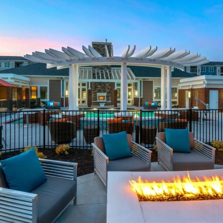 Lounging by the Pool | Infinity at Centerville Crossing