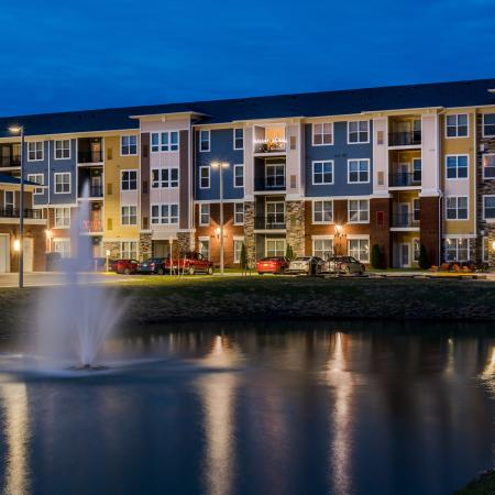 Flowing Fountain | Infinity at Centerville Crossing