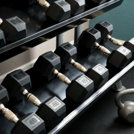 Free Weights | Pinnacle Apartments