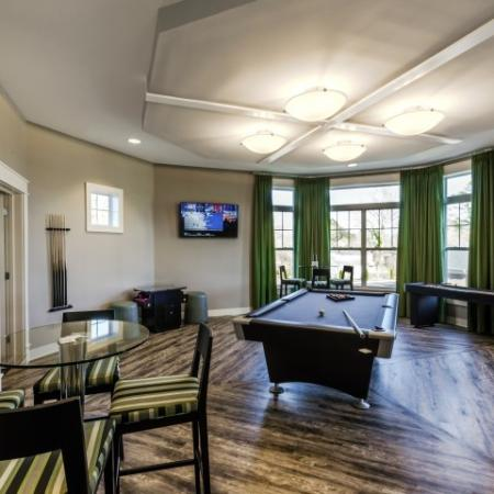 Fun Billiard Room | Pinnacle Apartments