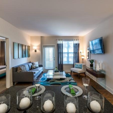 Open Style Living Space | Pinnacle Apartments
