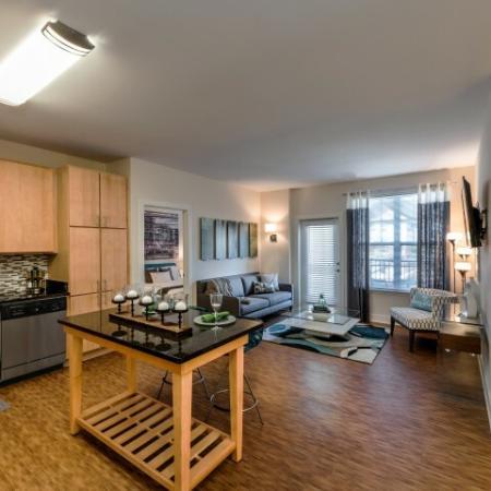 Spacious Living Space | Pinnacle Apartments