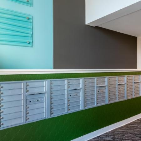 Organized Mail Room | Pinnacle Apartments