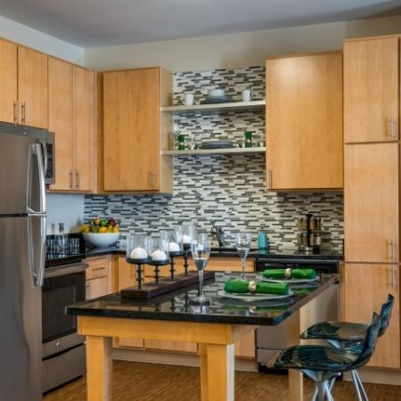 Modern kitchen | Pinnacle Apartments