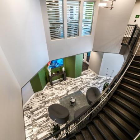 Showcase Stairwell | Pinnacle Apartments