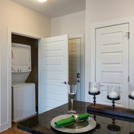 Washer and Dryer | Pinnacle Apartments