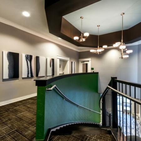 Elegant Clubhouse Interior | Pinnacle Apartments