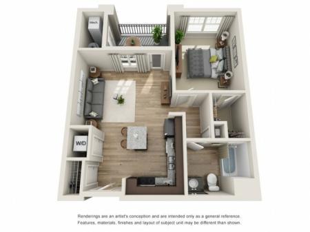 1 bedroom, 1 bathroom apartment Hampton, VA