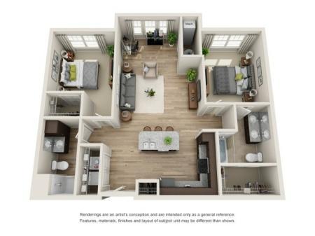 2 bedroom, 2 bathroom apartment for rent Hampton, VA