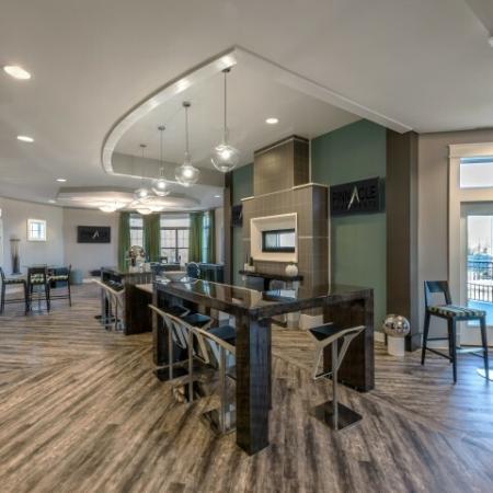 Modern Clubroom | Pinnacle Apartments