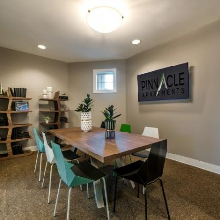 Conference Room | Pinnacle Apartments