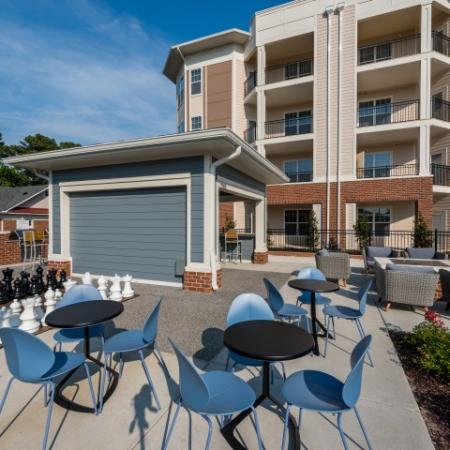 Outdoor Chess Games | Pinnacle Apartments