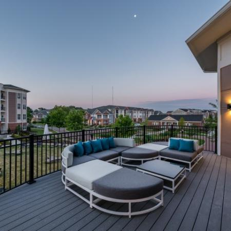 Scenic Clubhouse Deck | Pinnacle Apartments