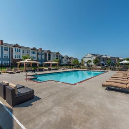 Sparkling Pool | Pinnacle Apartments