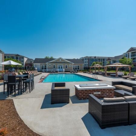 Resort Style Pool | Pinnacle Apartments