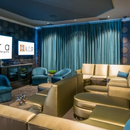 Media Room at Aura at Quarterpath3