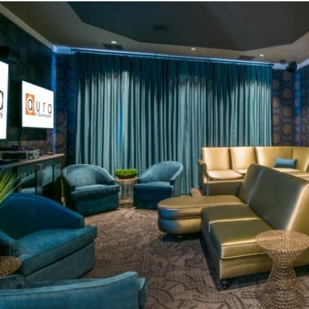 Media Room at Aura at Quarterpath4