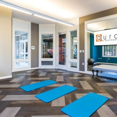Fitness Center at Aura at Quarterpath
