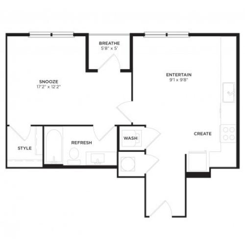A1-ALT1 Floor Plan