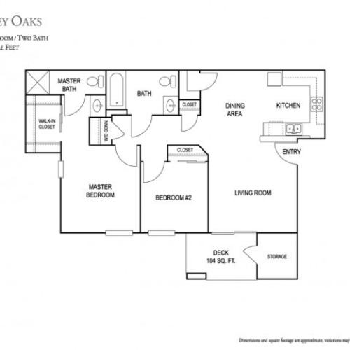 Oak Valley Apartments: 3 Bed / 2 Bath Apartment In Tulare CA