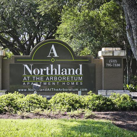 Northland at the Arboretum entrance | Austin TX apartments