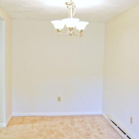 Dining room | 1 bedroom apartment