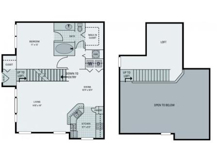 A3 Floorplan with Loft
