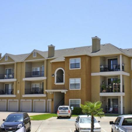 Garage parking at Madison at Stone Creek | Austin TX apartments