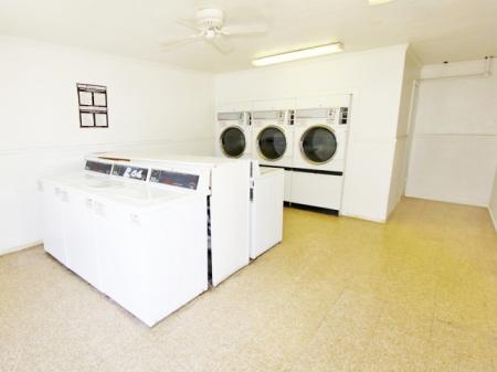 Candlewood apartment laundry center