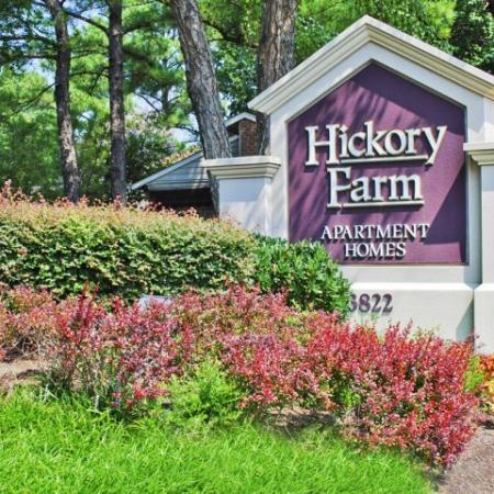 Hickory Farm apartments in Memphis TN