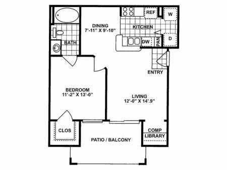 1X1 A Floorplan