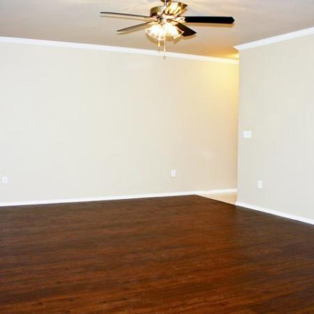 2 bedroom apartment | living room | Madison at the Arboretum