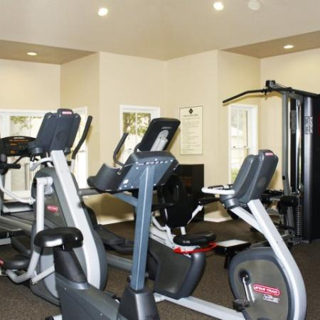 Fitness center cardio equipment | The Park at Walnut Creek