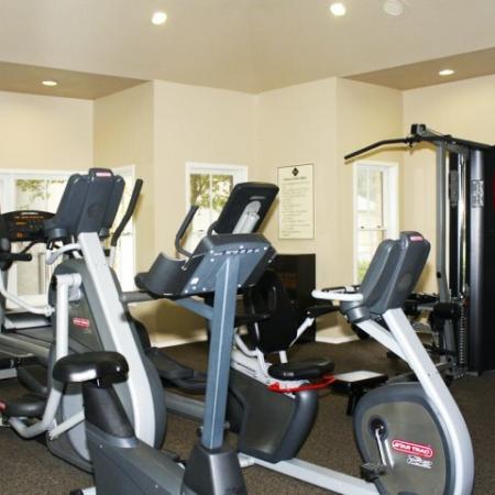 Fitness center cardio equipment | Madison at Walnut Creek