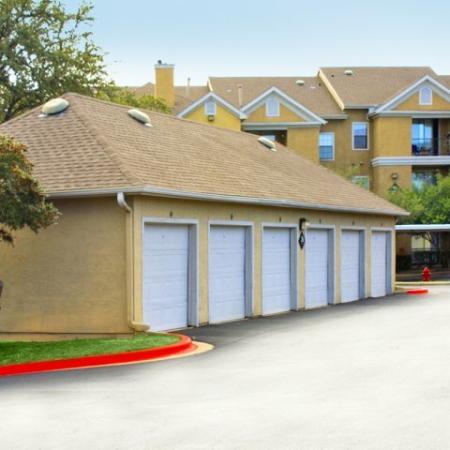 Garage parking | Metric Blvd apartments | Austin TX