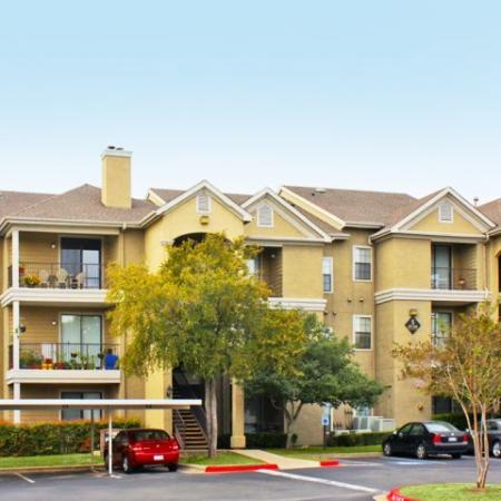 Covered parking available | Madison at Walnut Creek | Austin apartments