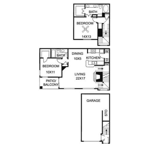 3 Bed / 2 Bath Apartment In Austin TX