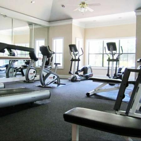 Apartment gym | Madison at Stone Creek | Austin TX