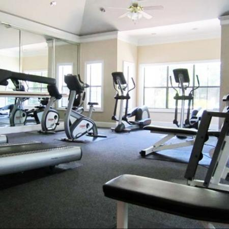 Apartment gym | Madison at Stone Creek | Austin TX